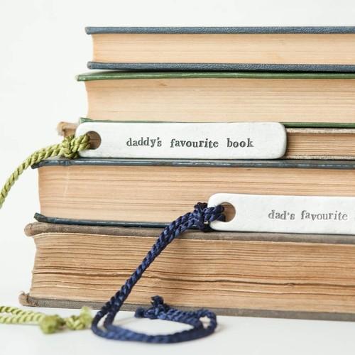 Zakładka do książki w prezencie dla taty