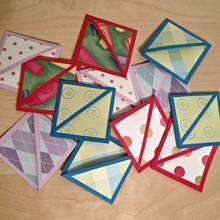 Jak wykonać trójkątną zakładkę do książki?