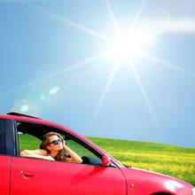 Sposoby na przetrwanie upału w samochodzie