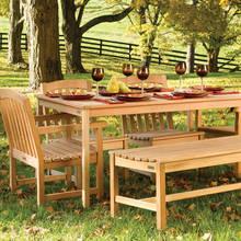 Czy warto wybrać meble drewniane do ogrodu?