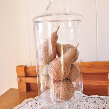 Ciekawe ozdoby – gruszki z żarówek