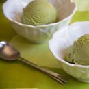Oryginalne lody z zielonej herbaty