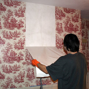 Jak oczyścić ścianę z kleju do tapet?