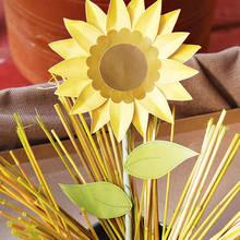 Słonecznik z papieru – ozdoba do każdego domu