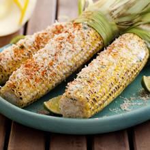 Kukurydza z grilla na sposób meksykański