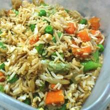 Ryż z warzywami z grilla – danie idealne na obiad