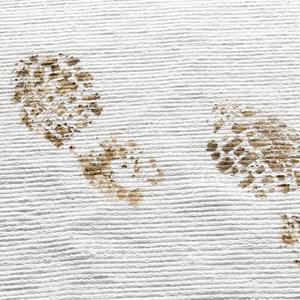 Jak wyczyścić zabłocony dywan zimą?