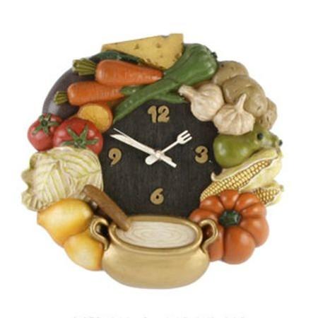 Jak samemu wykonać oryginalny zegar do kuchni?
