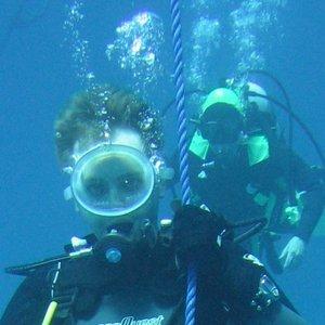 Rozszczelnienie się maski podczas nurkowania