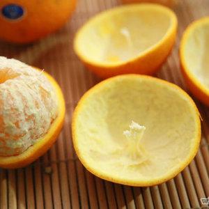 Lampion z pomarańczy – krok trzeci