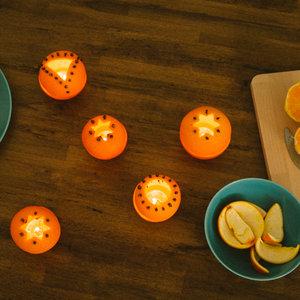 Lampion z pomarańczy – krok siódmy