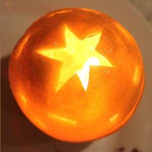Lampion z pomarańczy – krok piąty