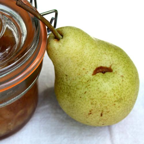 Słodki dżem gruszkowo-waniliowy