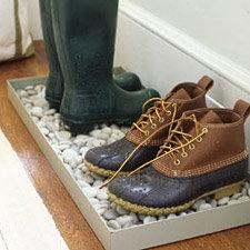Wykonanie maty na buty – podstawka