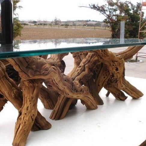 Jak wykonać meble z pnia drzewa?