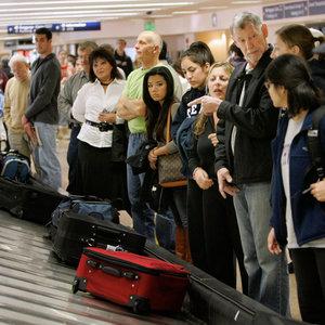 Widoczność walizki