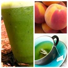 Domowa maseczka peel-off z brzoskwini i zielonej herbaty