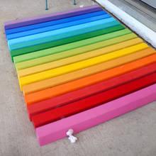 Jak zrobić kolorową wycieraczkę pod drzwi?