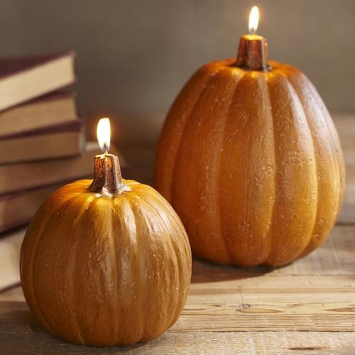 Jak wykonać dyniowe świeczki pachnące cynamonem?