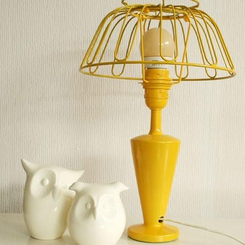 Jak ozdobić podstawę lampy?