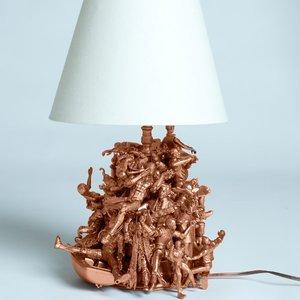 Ozdabiamy podstawę lampy – sposób piąty