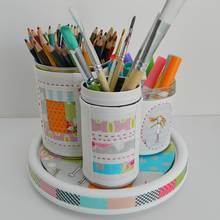 Jak wykonać ciekawy organizer na długopisy?