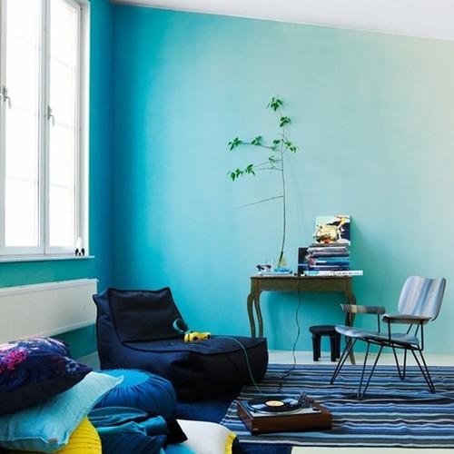 Jak pomalować ścianę techniką ombre?