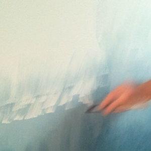 Malowanie ściany techniką ombre – krok szósty