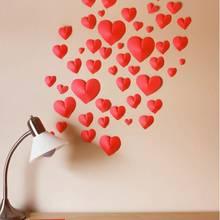 Jak wykonać dekorację na ścianę z papierowych serc?