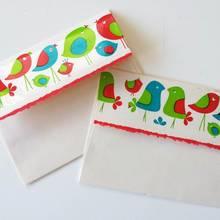 Jak zrobić ładną kopertę z papieru ozdobnego?