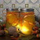 Jak wykonać jesienne lampiony na świeczki?