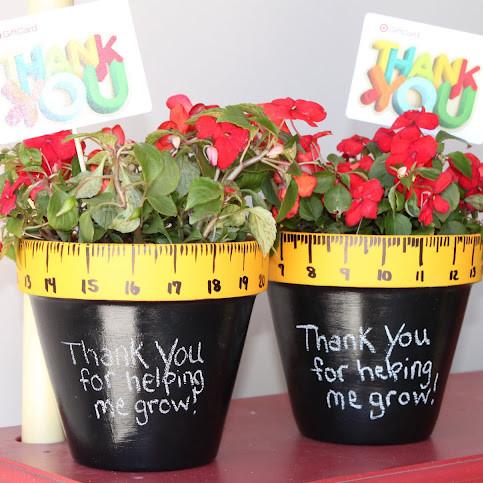 Ciekawy prezent dla nauczyciela – doniczka