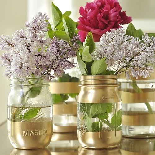 Jak przerobić słoik na ciekawy wazon?