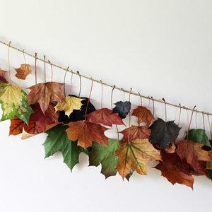 Jak zrobić dekoracyjne jesienne liście?