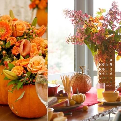 Jak ładnie ozdobić mieszkanie jesiennymi liśćmi?