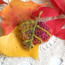 Jak wykonać jesienną broszkę?