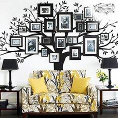 Motyw drzewa we wnętrzach – sposób trzeci