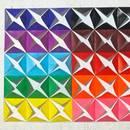 Jak wykonać piękny obraz z kolorowego papieru?