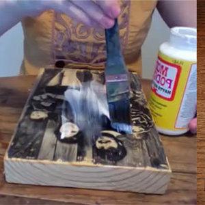 Fotografia na drewnie – krok szósty