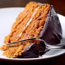 Pyszne ciasto dyniowe z czekoladą