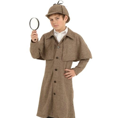 Sposób przygotowania stroju detektywa dla dziecka