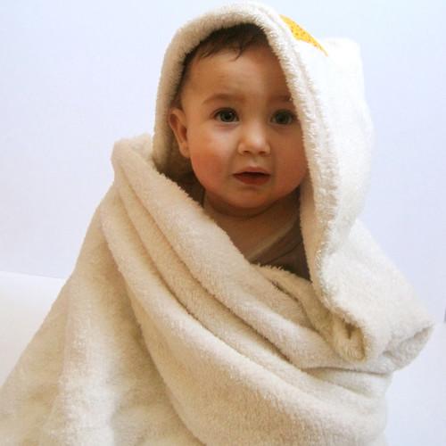 Jak zrobić ładny ręcznik z kapturkiem?