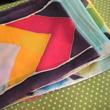Jak przygotować ręcznie malowany szal?