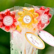 Jak przygotować ładny lizak-kwiatek?