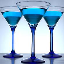 Sposób przyrządzenia drinka Martini Blue