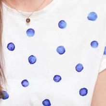 Jak zrobić ładną koszulkę w groszki?