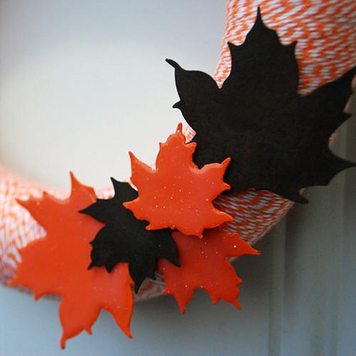Jak zrobić ozdobne liście z filcu?
