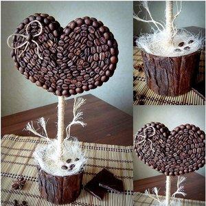 Ciekawy sposób wykonania drzewka kawowego