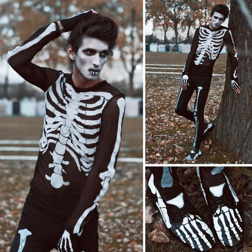 Jak zrobić kostium kościotrupa na Halloween?