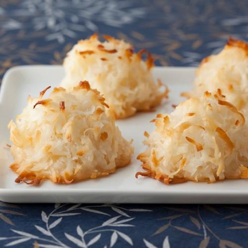 Prosty sposób na makaroniki kokosowe